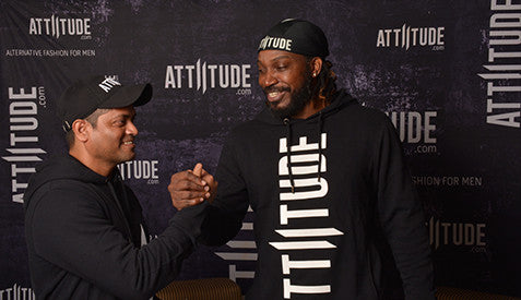 Attiitude.com signs Gayle as global brand ambassador - Published by IANS Live