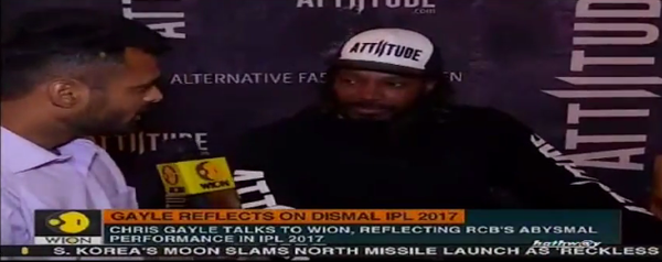 Attiitude.com brand ambassador in conversation with Wion News.