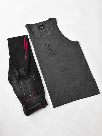 ATTIITUDE CPD TREATED LIGHT GREY VEST AND CAP