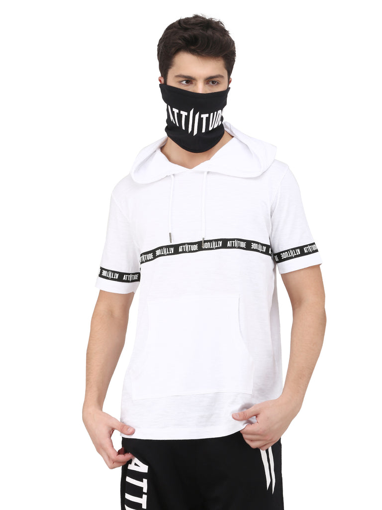ATTIITUDE MENS MASK BLACK