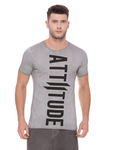 ATTIITUDE Baggy Over Sized T shirt - White