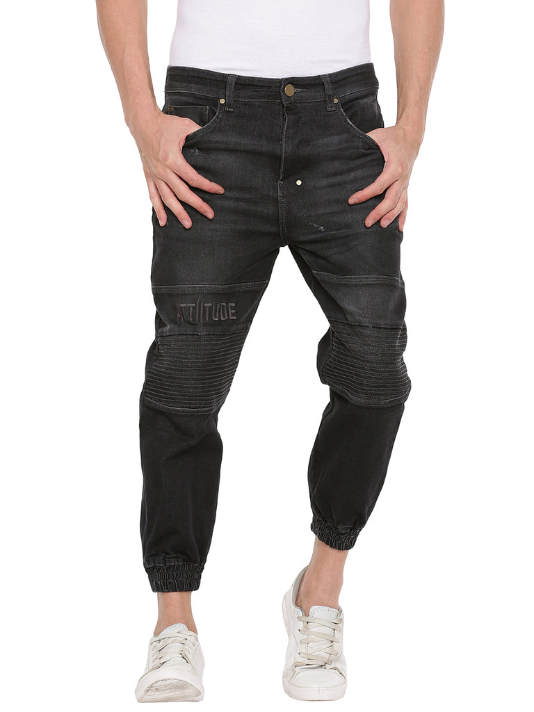 Attiitude Men's Black Denim