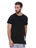 Attiitude Asymmetrical T shirt - Black