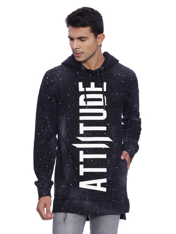 ATTIITUDE BLACK HOODIE WITH CPD TREATMENT