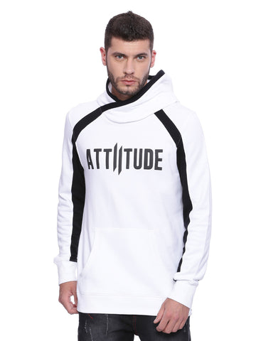 Attiitude Black Hoodies with HD print