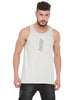 ATTIITUDE CPD TREATED HOLLOW LOGO LIGHT GREY VEST