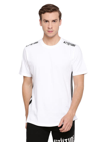 Attiitude Black full sleeve t shirt with Hollow HD print