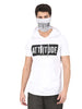 LIGHT GREY TSHIRT AND MASK
