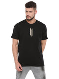 ATTIITUDE BLACK BOXY FIT T-SHIRT