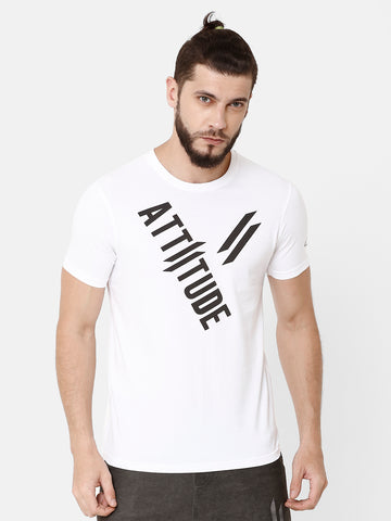 CRAQUELURE WHITE MEN T-SHIRT