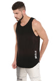 ATTIITUDE BLACK VEST WITH ORANGE WASHAND CAP
