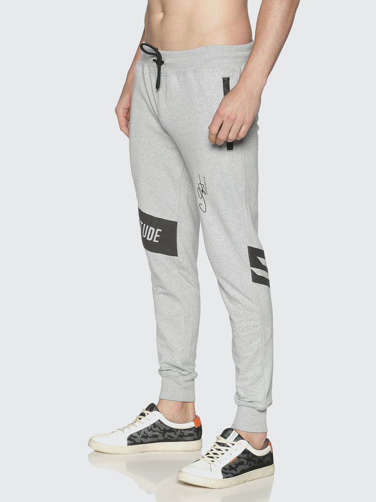 Men Grey Slim Fit Jogger