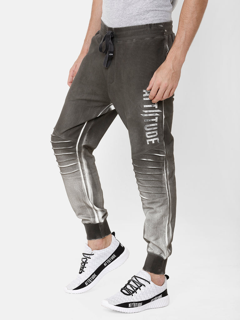 Whased Effect Colour Block Jogger