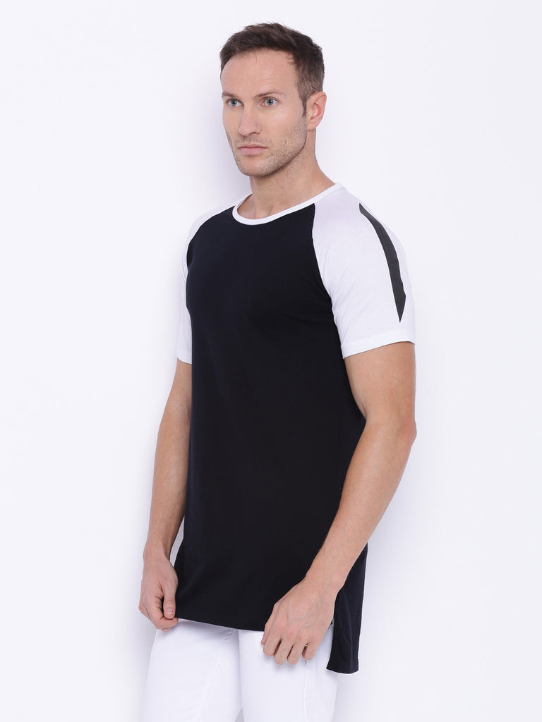ATTIITUDE Raglan t shirt with white sleeve