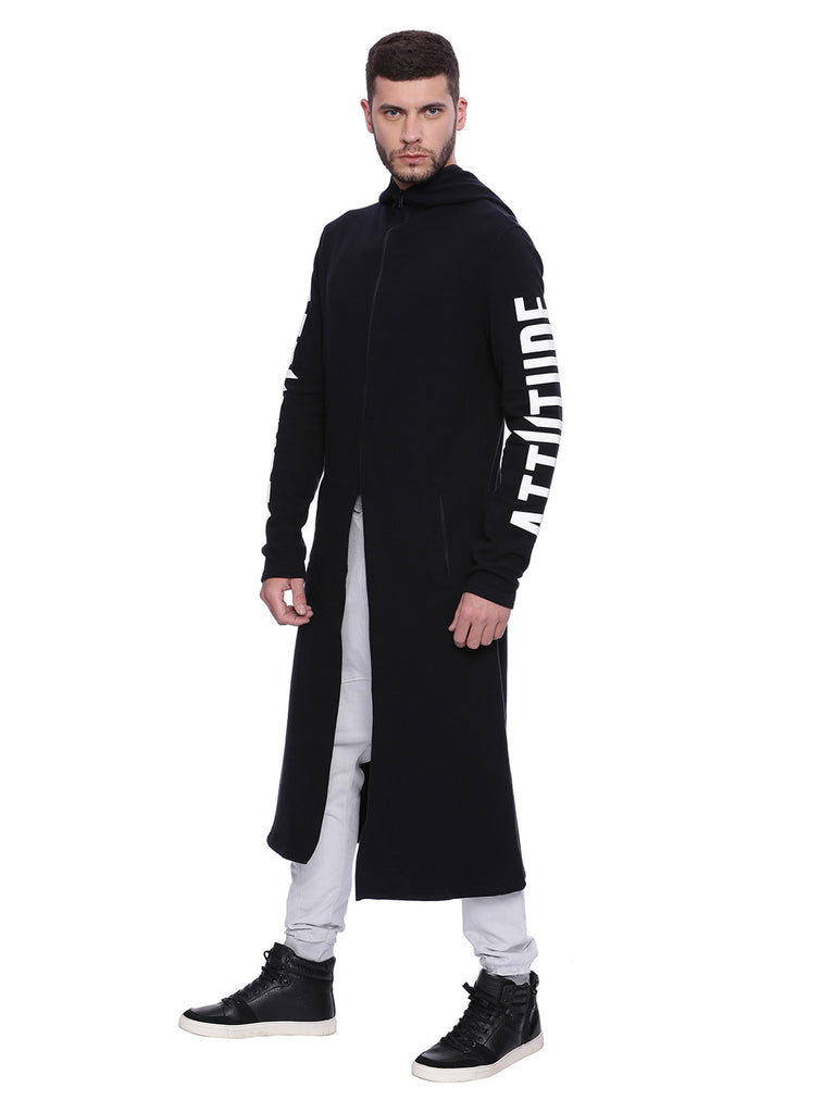 Attiitude Assassin Super-long Hoodie