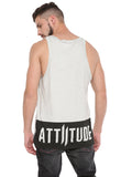 Attiitude CPD treated light Grey vest