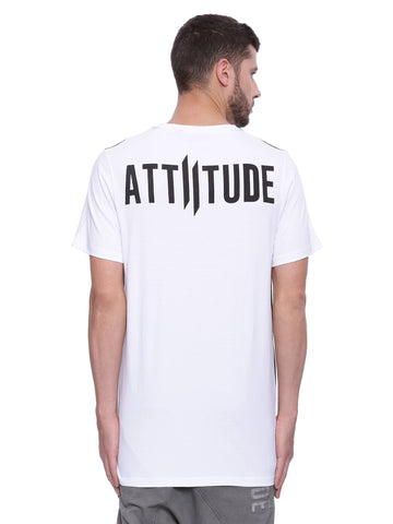 Attiitude colour-block t-shirt