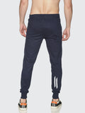 Men Navy Blue Slim Fit Jogger