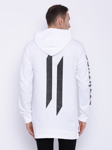 Attiitude white terry hoodies