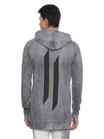Attiitude CPD treated Grey Hoodie