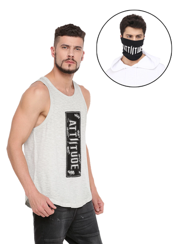 ACCESSORIES BLACK MASK AND WHITE ARM SLEEVE COMBO 8