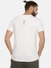 White T-Shirt With Big Doluble I Logo