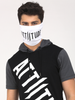 ATTIITUDE MENS MASK WHITE