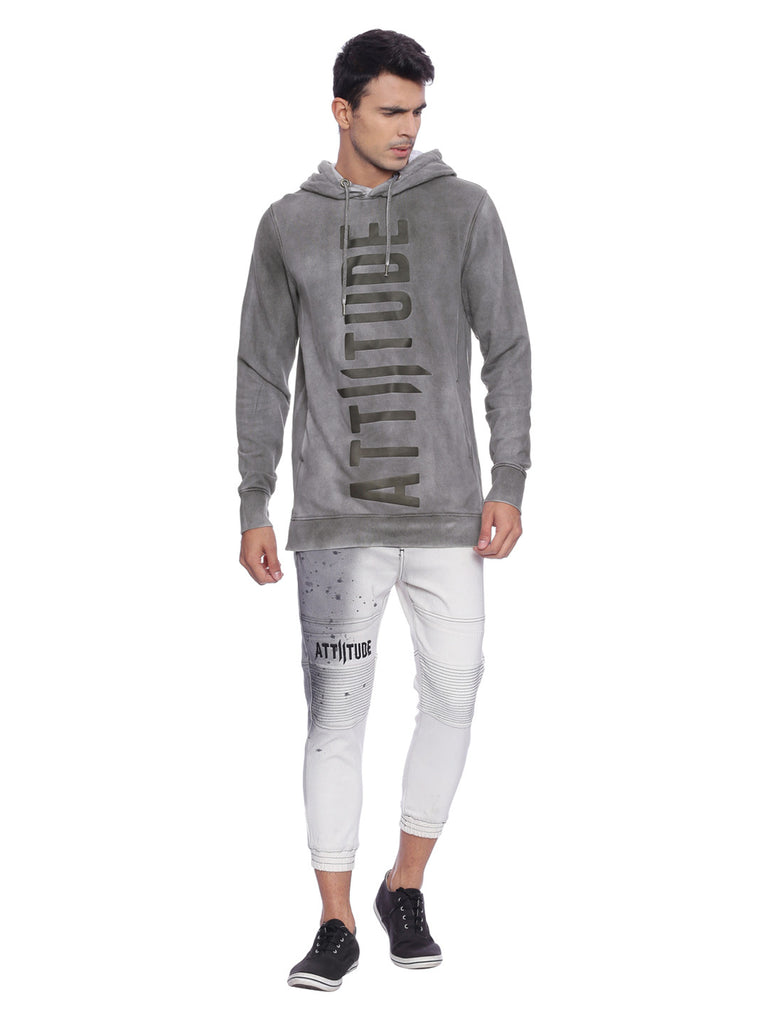 ATTIITUDE GREY HOODIE WITH CPD TREATMENT