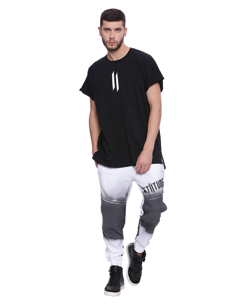 ATTIITUDE Baggy Over Sized T-shirt - Black