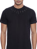 ATTIITUDE Medallion printed All Black T-SHIRT