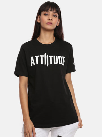 Attiitude Printed Double I Logo On Chest -Green