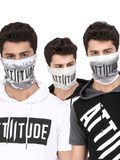 ATTIITUDE MEN'S MASK COMBO9 (PACK OF 3)