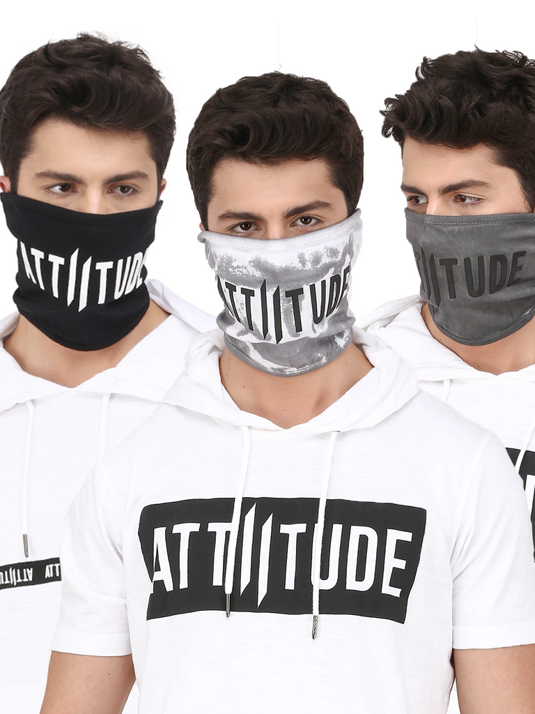 ATTIITUDE MEN'S MASK COMBO13 (PACK OF 3)