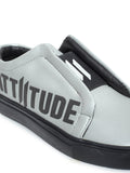 ATTIITUDE- Men Slip-On Sneakers