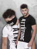 Winter Frenzy Combo V (Regular Hem Black T-shirt + Black Mask)