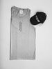 ATTIITUDE CPD TREATED HOLLOW LOGO LIGHT GREY VEST AND CAP