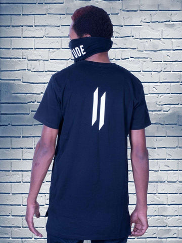 Combo 16(ATTIITUDE BLACK T-SHIRT + Mask)