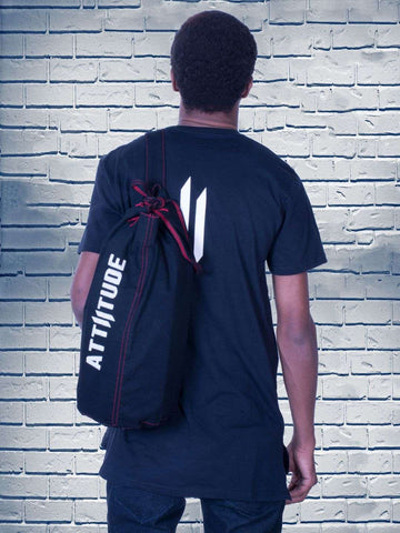Combo 17(ATTIITUDE BLACK T-SHIRT + Denim bag)