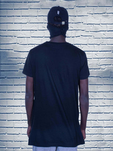 Combo 23(BLACK T-SHIRT + Denim Bag + Polo Cap)