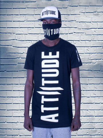 Combo 25(ATTIITUDE BLACK T-SHIRT +Denim Bag + PU Cap)