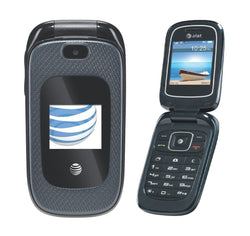 ZTE Z222 AT&T Unlocked 3G GSM Bluetooth with Camera Flip Phone - Beast Communications LLC