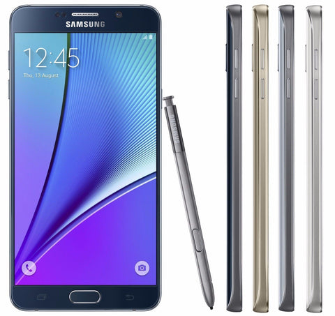 Samsung Galaxy Note 5 UNLOCKED 32/64GB - (GSM AT&T T-Mobile H20) 4G Smartphone - Beast Communications LLC