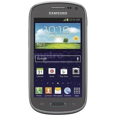 Samsung Galaxy Exhibit SGH-T599 Gray Metro PCS (GSM Unlocked) Android Smartphone - Beast Communications LLC