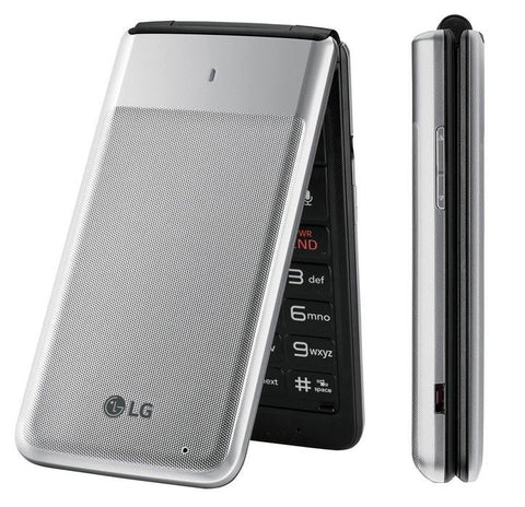 New 4G LTE LG Exalt VN220 Verizon Flip Basic Cellular Cell Phone Page Plus - Beast Communications LLC