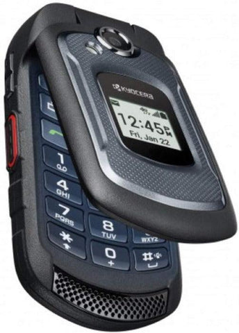 4G LTE Kyocera DuraXV E4710 Basic Flip At&t Rugged Cell Phone Straight Talk - Beast Communications LLC