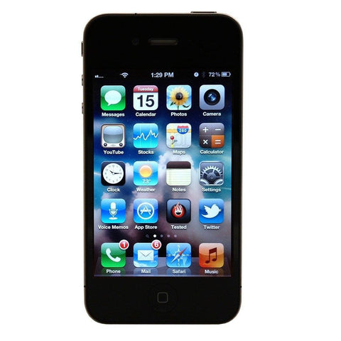 Apple iPhone 4S 16GB Factory Unlocked Cell Phone At&t T-Mobile Metroc PCS - Beast Communications LLC