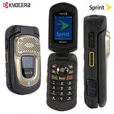 Kyocera DuraXT E4277 Black Sprint Cellular Phone Military Rugged TING - Beast Communications LLC