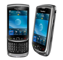 BlackBerry Torch 9800 At&t Smartphone Touchscreen Cell Phone Straight Talk - Beast Communications LLC