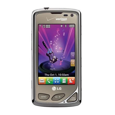 LG Chocolate Touch VX8575 Silver Dark Grey Verizon or Page Plus - Beast Communications LLC