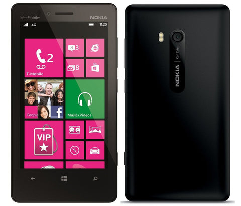 Nokia Lumia 810 - 8GB - Black (T-Mobile) Smartphone
